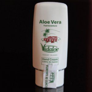 Hand cream of aloe vera natural and ecological